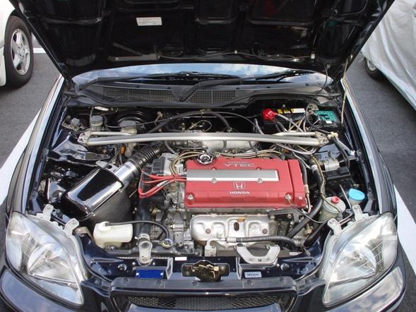 E-EK9:エンジンルーム 1